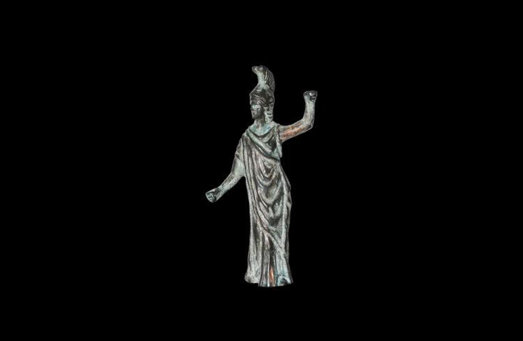 Roman Minerva Statuette