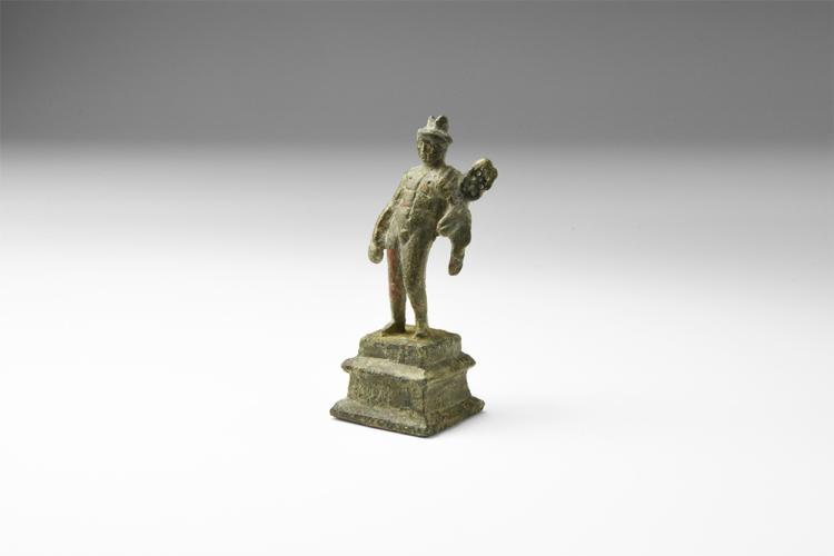 Roman Mercury Figurine