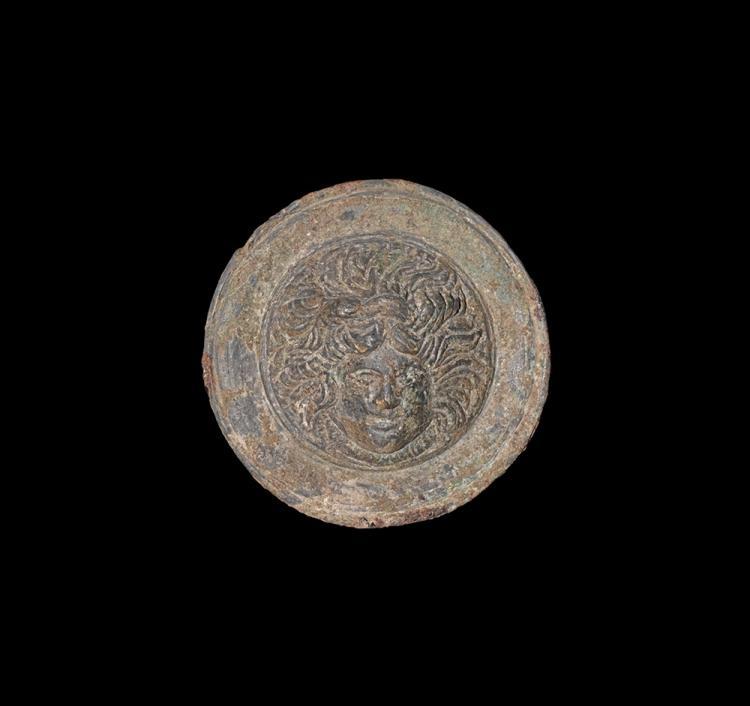 Roman Phalera with Head of Medusa