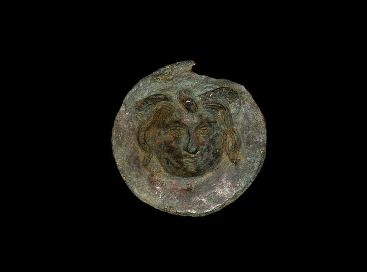 Roman Phalera of Medusa