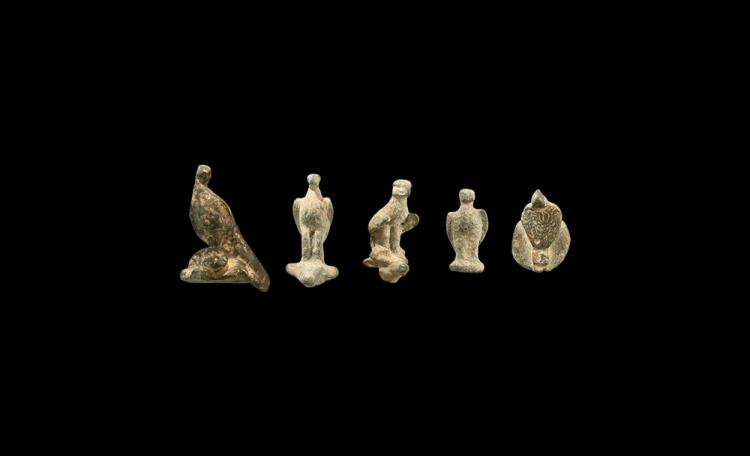 Roman Eagle Statuette Group