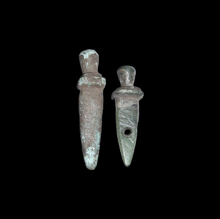 Roman Votive Dagger Group