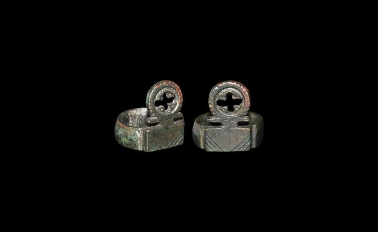 Roman Ring Casket Key