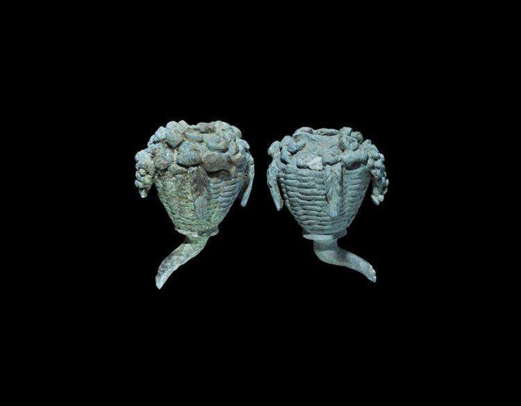 Roman Model Cornucopia Pair