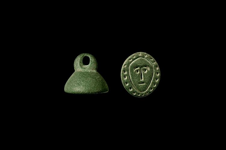 Roman Seal with Face