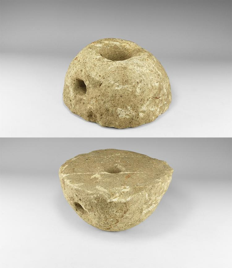 Roman Rotary Quern Stone