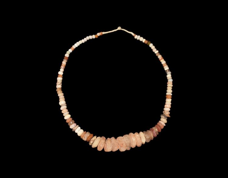 Quartz and Other Bead Necklace