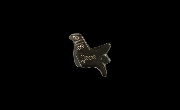 Roman Bird Amuletic Bead