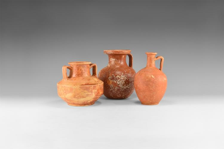 Roman Redware Vessel Group