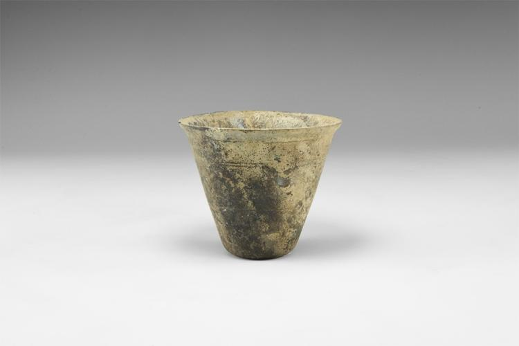 Roman Cup with Incised Decoration