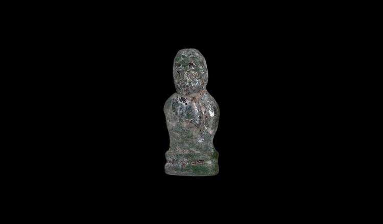 Roman Male Bust Figure