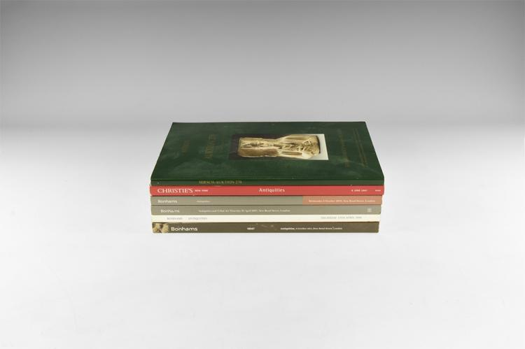 Books - Mixed Antiquities Auction Catalogue Group