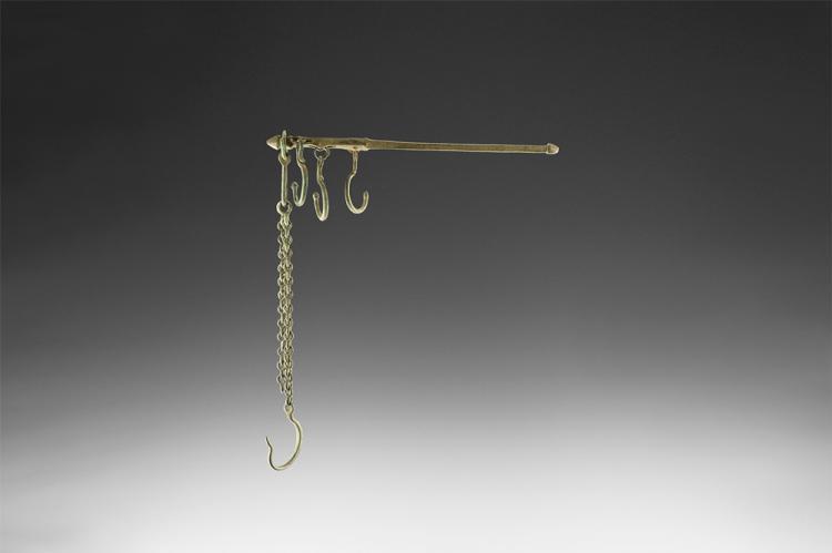 Byzantine Steelyard Balance with Chains