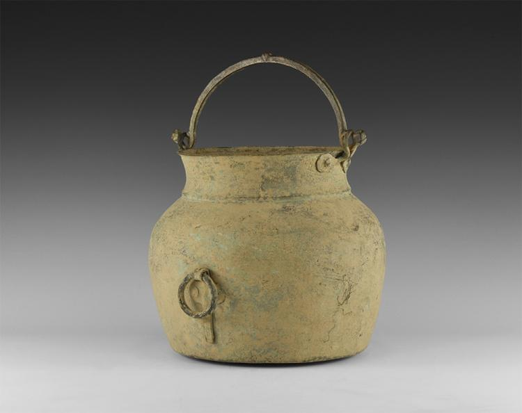 Byzantine Cauldron with Handle