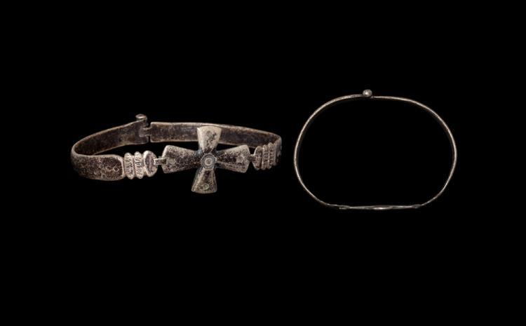 Byzantine Bracelet with Cross