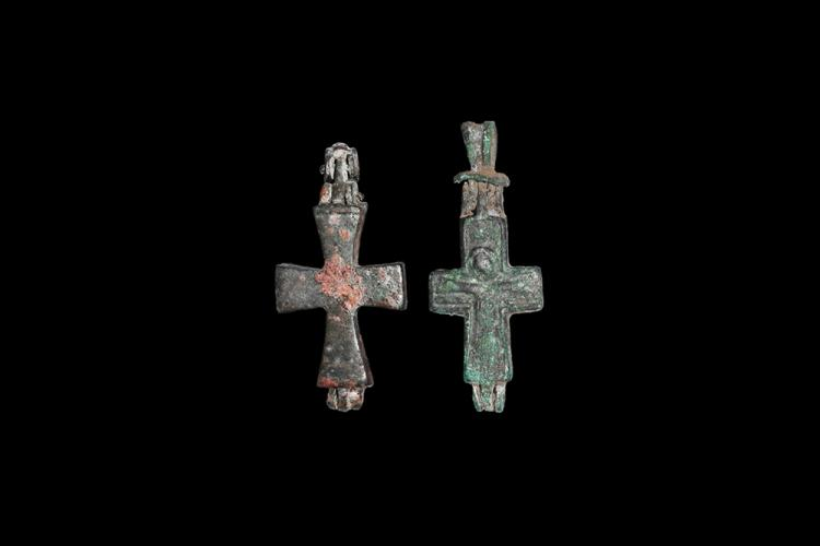 Byzantine Reliquary Cross Group