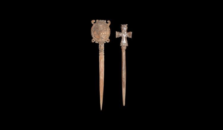 Byzantine Dress Pin Group