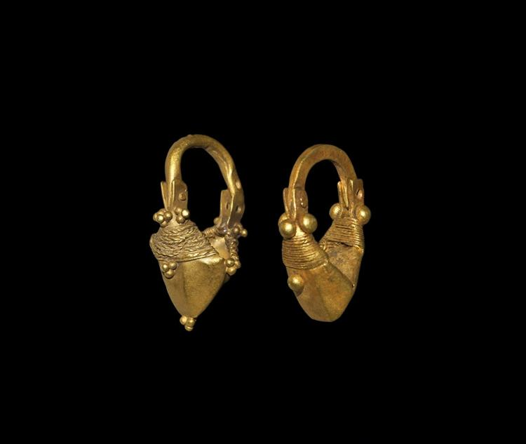Parthian Gold Earrings