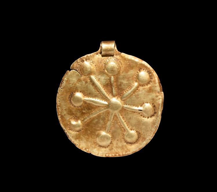Greek Gold Horse Harness Pendant