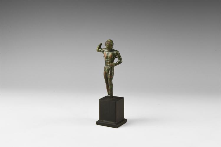 Greek Archaic Athlete Statuette
