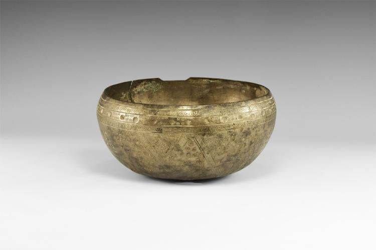 Parthian Large Decorated Bowl