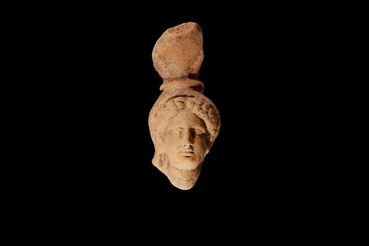 Greek Head of Goddess Demeter