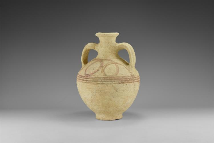 Greek Decorated Vessel