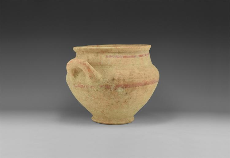 Greek Single-Handled Vessel