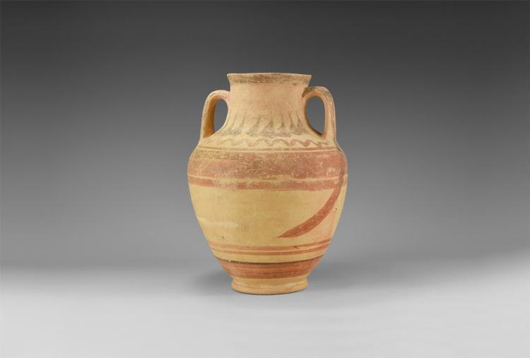 Greek Decorated Jar