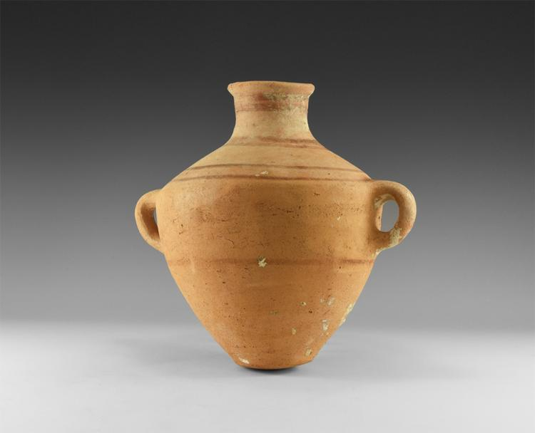 Greek Painted Amphoriskos