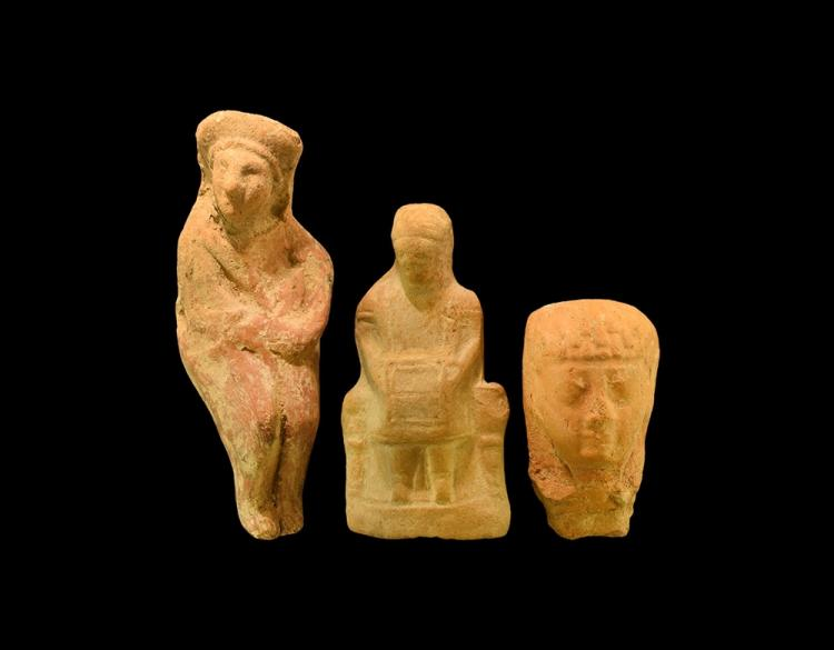 Greek Statuette Group