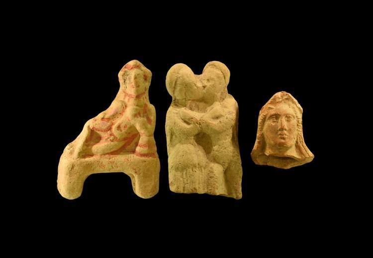Greek Statuette Group