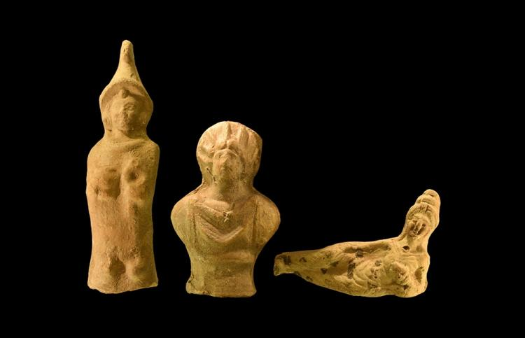 Parthian Statuette Group