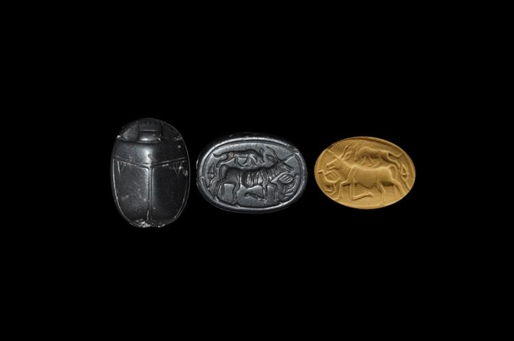 Egyptian Canaanite Scarab