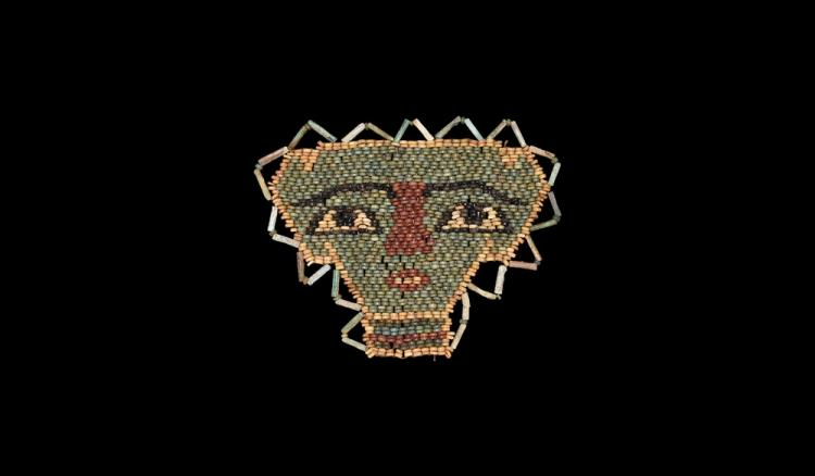 Egyptian Beaded Face Mask