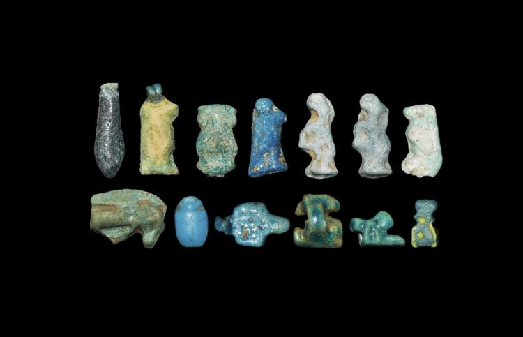 Egyptian Amulet and Pendant Group