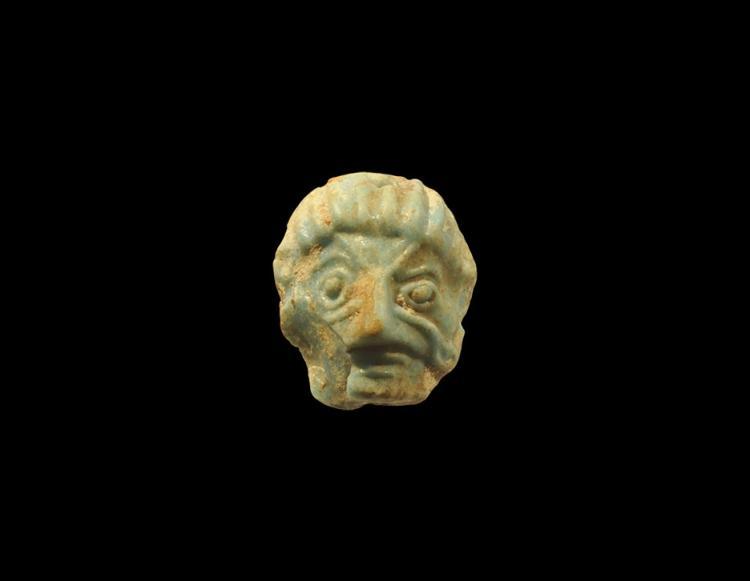 Egyptian Mask Amulet
