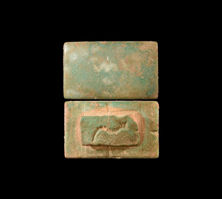 Egyptian Tile with Maker's Mark