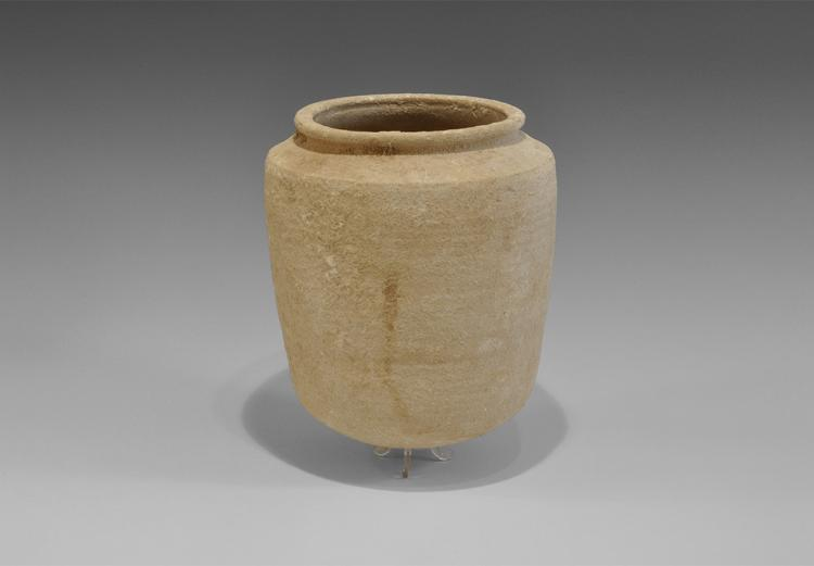 Phoenician Storage Jar with Ribbed Bottom
