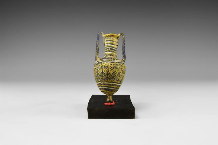 Phoenician Mosaic Glass Amphora