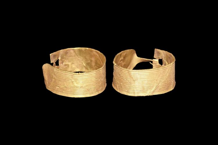 Bronze Age Gold Hair Ornament