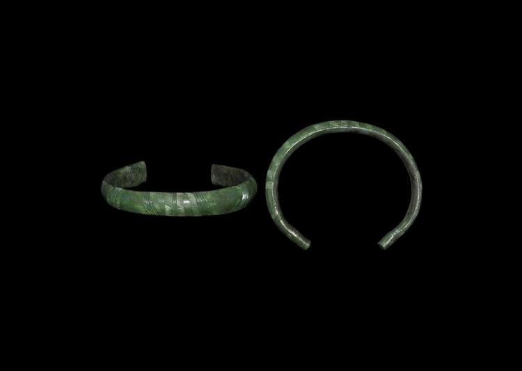 Bronze Age Decorated Bracelet