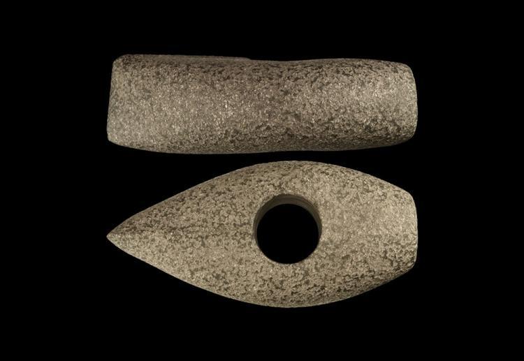 Stone Age Boat-Shaped Axe-Hammer