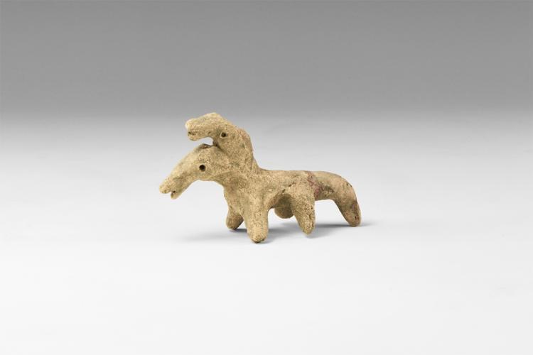 Stone Age Danubian Rider Figurine