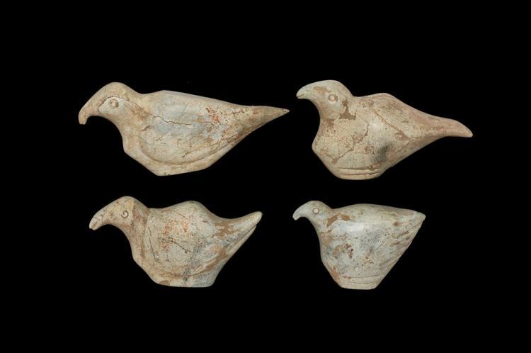Van Culture Bird Statuette Group