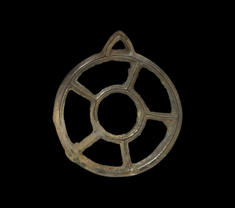 Bronze Age Wheel-Type Pendant