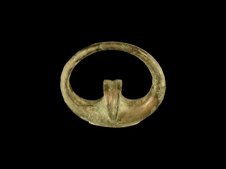 Iron Age British Celtic Chariot Terret Ring