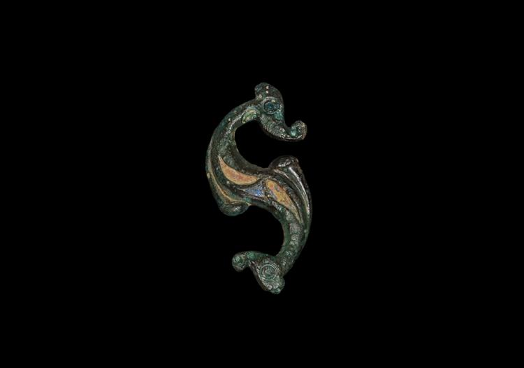 Iron Age British Celtic Dragonesque Brooch