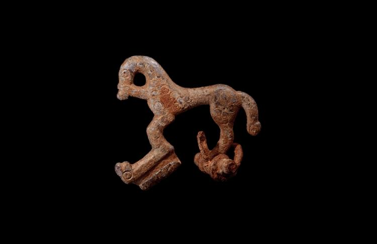 Iron Age Celtic Horse Brooch