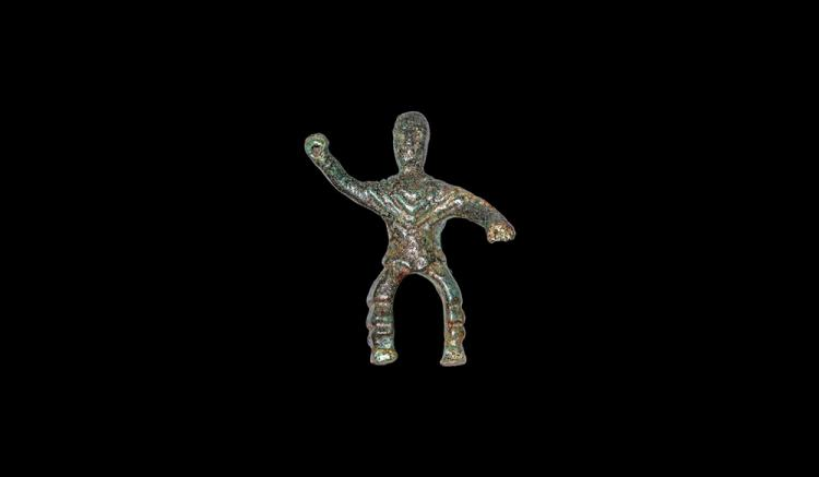 Iron Age Celtic Rider Figurine